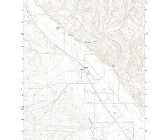 USGS Topo Map Oregon Jamieson 20110831 TM by wetdryvac