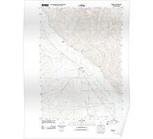 USGS Topo Map Oregon Jamieson 20110831 TM Poster
