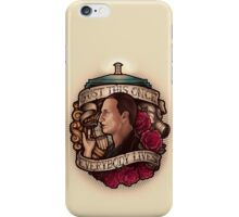 Just This Once iPhone Case/Skin