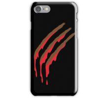 3 werewolf slashes iPhone Case/Skin