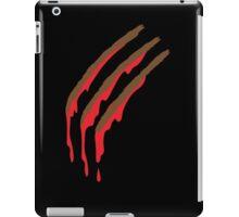 3 werewolf slashes iPad Case/Skin