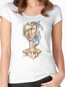 Paper Pirate Women's Fitted Scoop T-Shirt
