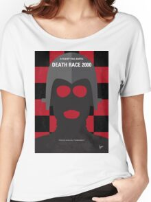 No367 My Death Race 2000 minimal movie poster Women's Relaxed Fit T-Shirt