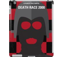 No367 My Death Race 2000 minimal movie poster iPad Case/Skin