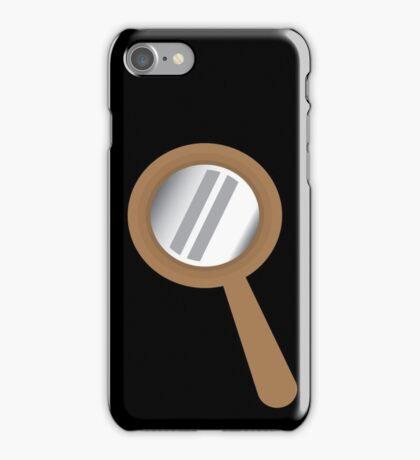 Looking glass eyeglass  iPhone Case/Skin
