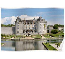 Chateau La Roche Courbon 2 Poster