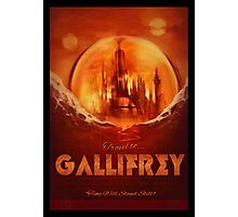 Travel To...  Gallifrey! Photographic Print