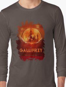 Travel To...  Gallifrey! Long Sleeve T-Shirt
