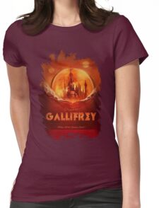 Travel To...  Gallifrey! Womens Fitted T-Shirt