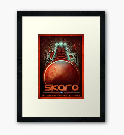 Travel To... Skaro! Framed Print