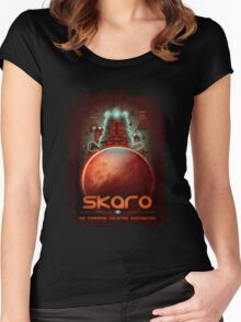 Travel To... Skaro! Women's Fitted Scoop T-Shirt