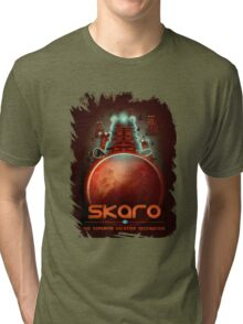 Travel To... Skaro! Tri-blend T-Shirt