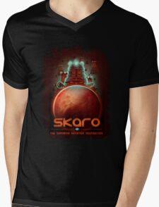 Travel To... Skaro! Mens V-Neck T-Shirt