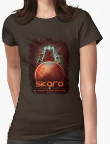 Travel To... Skaro! Womens Fitted T-Shirt
