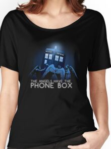 The Angels Have the Phone Box Women's Relaxed Fit T-Shirt