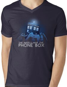 The Angels Have the Phone Box Mens V-Neck T-Shirt