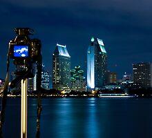 San Diego Skyline by Robby Ticknor