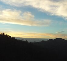 Clouds In The San Bernardino Mountains by Bearie23