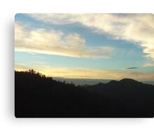 Clouds In The San Bernardino Mountains Canvas Print