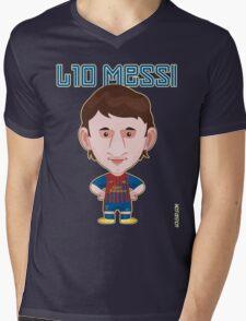 Leo Messi 2011/12 Mens V-Neck T-Shirt