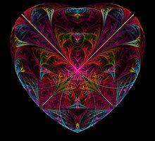 Rainbow Heart by ChanRoberts