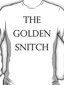 The Golden Snitch T-Shirt