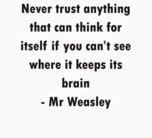Mr Weasley Quote by meldevere