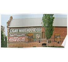 Cigar Warehouse Poster