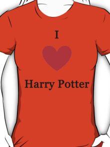 I love Harry Potter T-Shirt