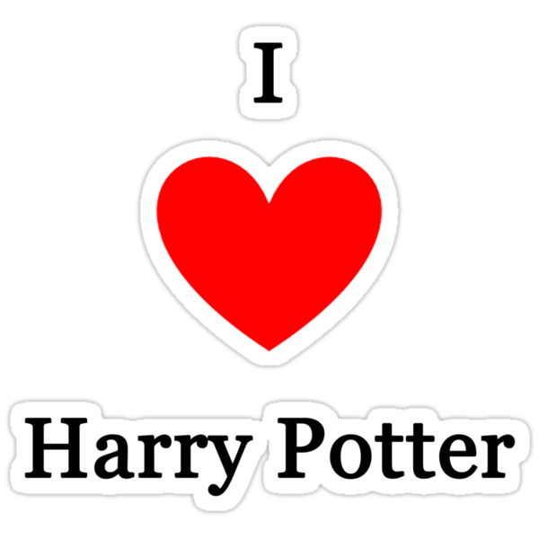 I love Harry Potter by meldevere