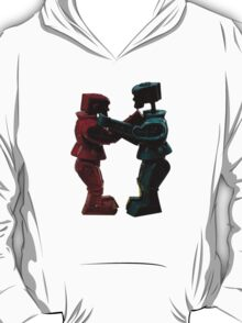 Vintage Fighting Robots 1 T-Shirt