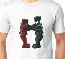 Vintage Fighting Robots 1 Unisex T-Shirt