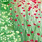 Spring meadow by acquart