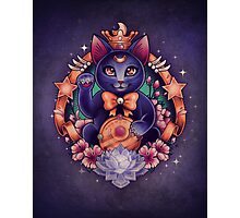 Maneki Luna Photographic Print