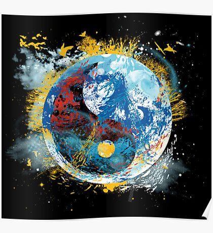 flux planet Poster