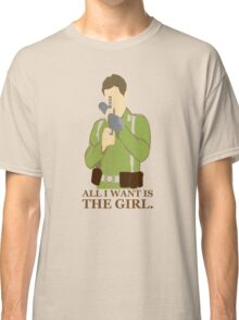 "Indiana Jones - ""All I Want is the Girl"" Classic T-Shirt"