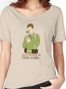"Indiana Jones - ""All I Want is the Girl"" Women's Relaxed Fit T-Shirt"