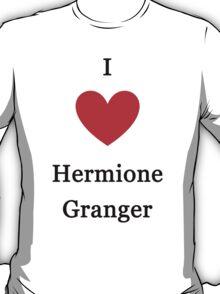 I love Hermione Granger T-Shirt