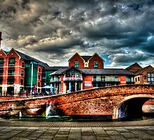 Nottingham Canal England 2011 HDR by Richard Jackson