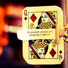 trust the queen of diamonds. by Erin  Sadler