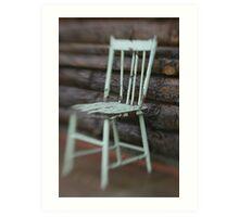 Farmhouse Chair Art Print