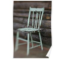Farmhouse Chair Poster
