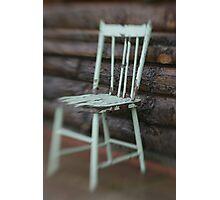 Farmhouse Chair Photographic Print