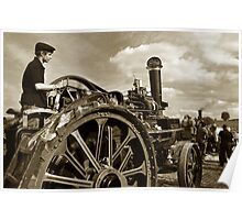 The engineman Poster
