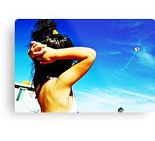 Flying Ariel Metal Print