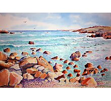 Yzerfontein seascape, near Cape Town, South Africa Photographic Print
