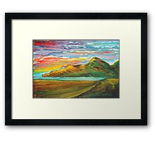 Mourne Abstract 3 Framed Print