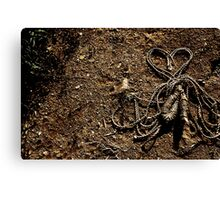 Love Rope on Ground Canvas Print