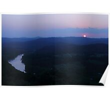 Sunset view point, Eureka Springs Poster