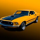 1969 Mustang Mach 1 Fastback by Timothy Meissen